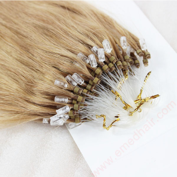 Cheap Best Human remy Hair Extensions Micro Ring Hair Extensions   LM087