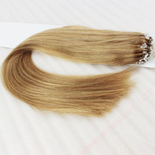 Micro Ring Hair Extensions Best Remy Human Hair 8-30 Inch 30 Color Straight Hair Extensions  LM235