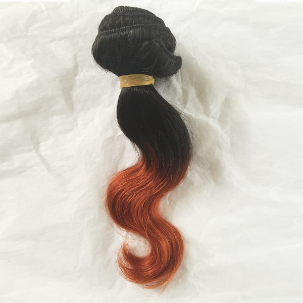 50g body wave ombre color hair for Africa market  LJ52