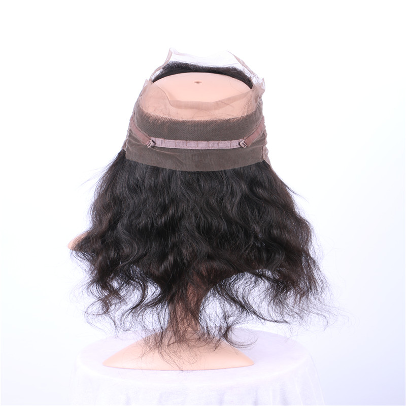 360 Lace Wig fro Black Woman Human Hair Body Wave ...</>