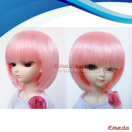 pink doll wigs