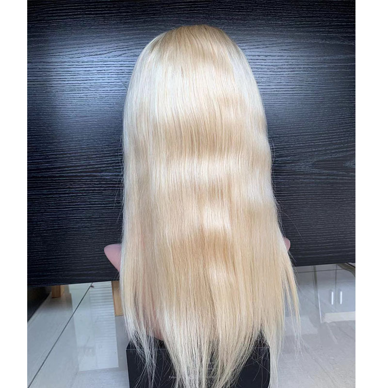 613 Blonde Full Lace Wigs for Women With Baby Hair Pre Plucked virgin Human Hair Wigs Straight Glueless  YL312