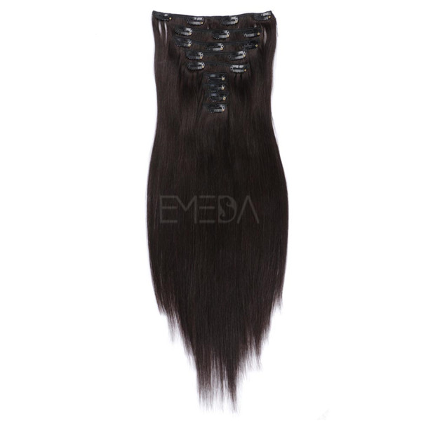 wholesale clip in extensions real hair virgin hair australia XS035