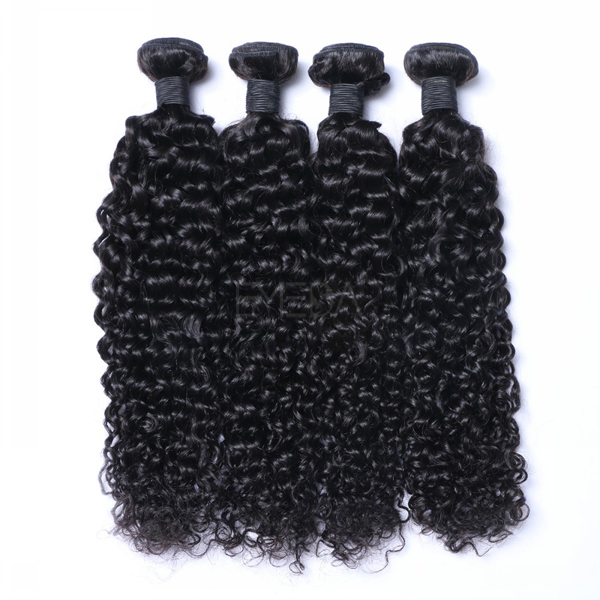 Remy afro curly weaving hair extensions CX062