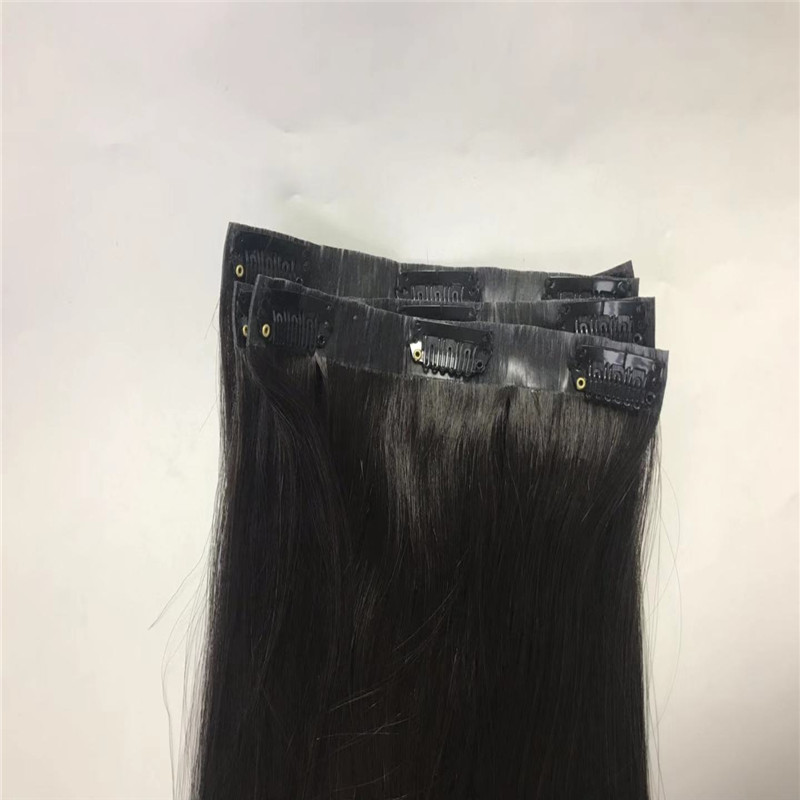 Clip on Hair with PU on the Band Newest Design and Easy to Use WK108