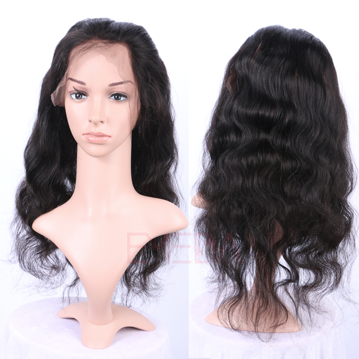 360 Lace Frontal With Bundles Ear To Ear Pre Plucked Baby Hair Unprocessed Human Hair  LM202