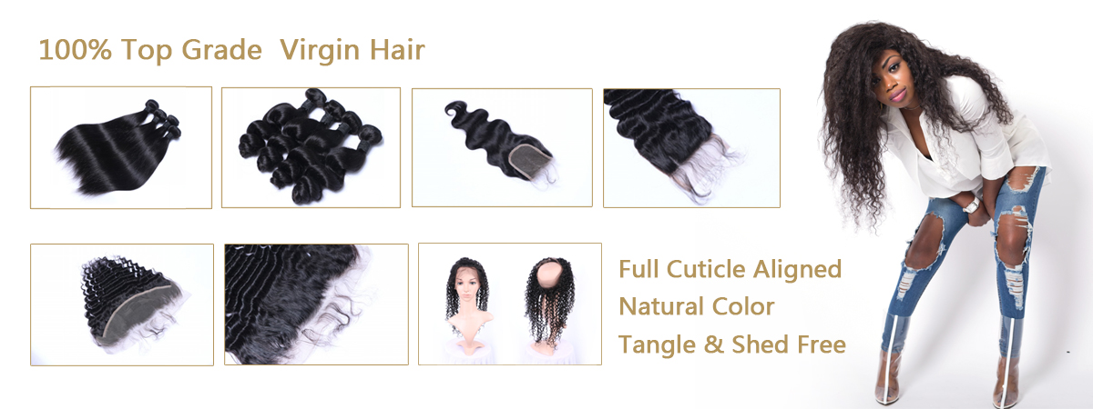 Raw virign human hair