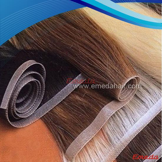 Remy weft hair extensions