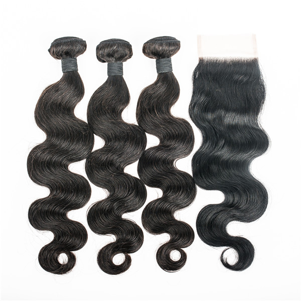 Brazilian Human Hair Bundles Body Wave 3 Bundles Weave Hair Extensions  for Women YL332
