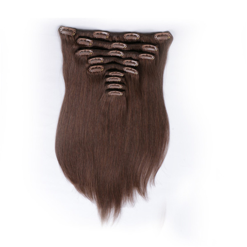 Clip in Hair Extensions Virgin Human Brazilian Original Hair Extensions WK091