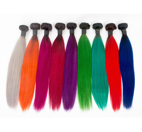 Best Hair Dye For Ombre On Dark Hair Colorful Hair Remy Hair Bundles   LM450