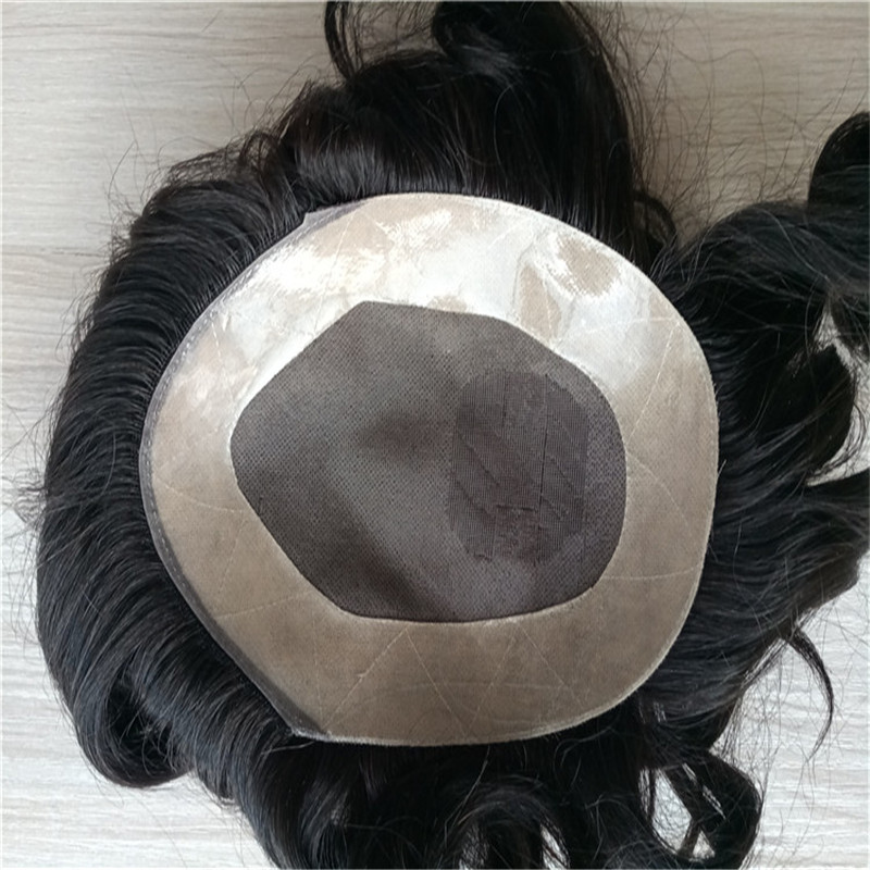 D7-3Z Mono Toupee with around NPU the most popular style WK064