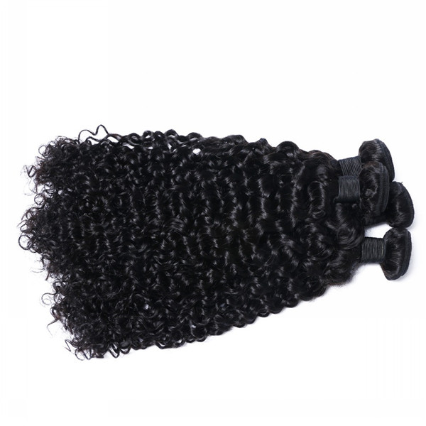 Brazilian Human Hair Bundles Virgin Top Quality Good Value Curly Weaves   LM095
