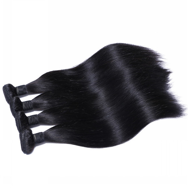 Brazilian Human Hair Bundles Straight Unprocessed Natural Wholesale Hair Weave  LM341