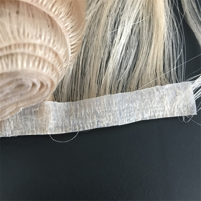 Human Hair Extensions Supplier Skin PU Weft Virgin Remy Hair Body Wave Hair WK104
