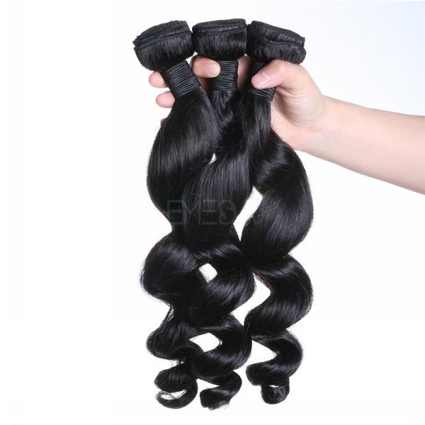 Virgin remy weft human hair extensions CX060