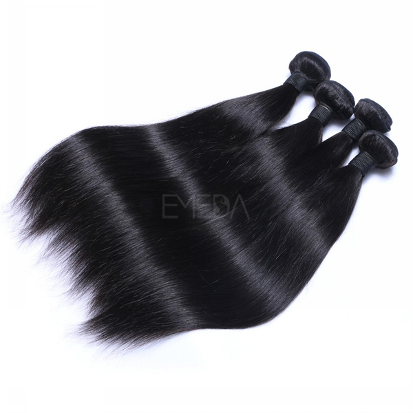 Permium 100 virgin remy human hair extensions CX064