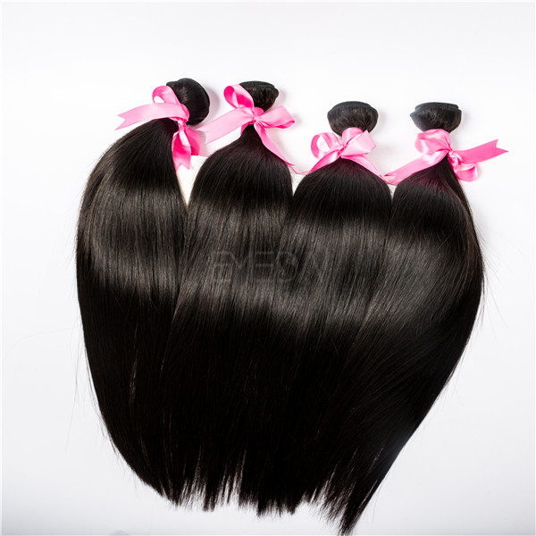 Remy hair and hair weaving hair extensiosn Indian straight hair YL079