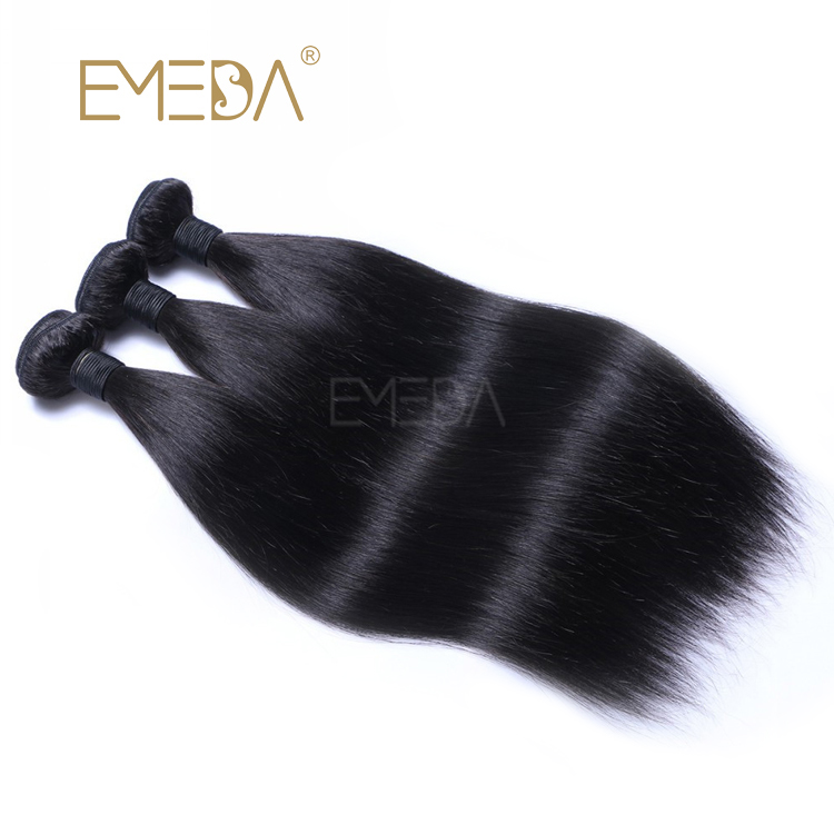 Wholesale Brazilian Virgin Human Hair Bundles Straight Unprocessed Original Hair Weave  LM305