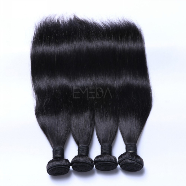 Black remi human hair weaves hair extension type CX059