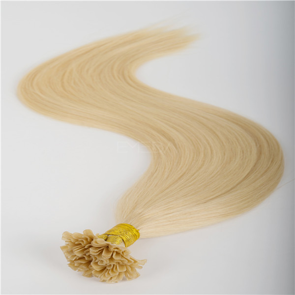 Order top grade Pre- bounded human hair extensions online WJ018