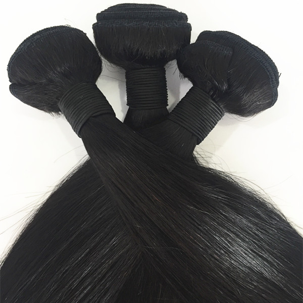 Brazilian virgin human hair bundle cuticle aligned straight hair YL140