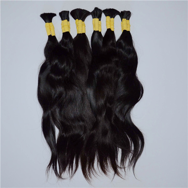 Mongolian natural black wave virgin remy hair extensions YJ10