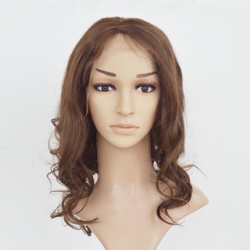 Human virgin hair top quality wholesale price large stockfull lace and  lace front wig wavy style YL213