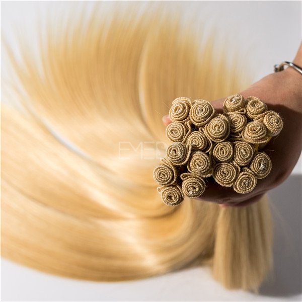 Blonde hair extensions, blonde russian hair, blonde crochet braid hair HN176