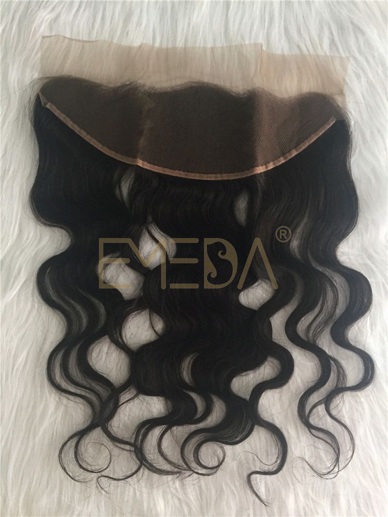 Lace  frontal hair virgin hair bundles with lace front with  baby hair YL253