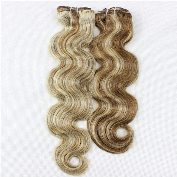Piano color body wave hair weft XS017