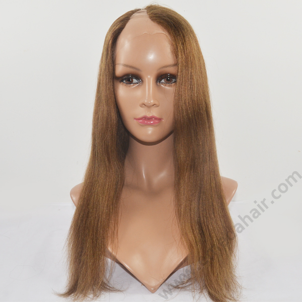 U part full lace wig human hair wig HN137