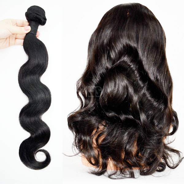 2016 hot selling Indian wavy hair extension 1b 16inch CX002