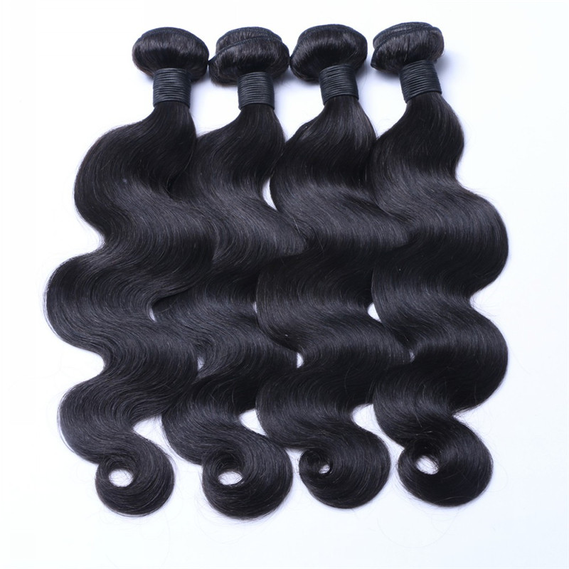 Hot Selling 100% Malaysian Hair Body Wave Texture Mink Hair WK043