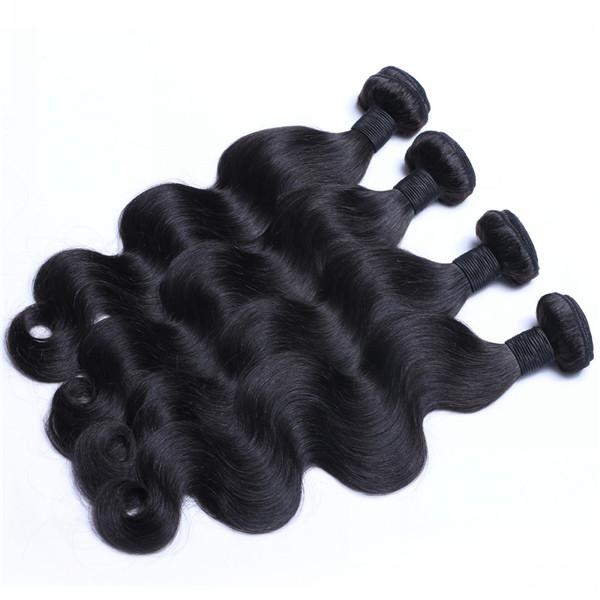 Wholesale Raw Indian Human Hair Weave Best Quality Virgin 8-32 Inch Natural Hair Weft  LM284