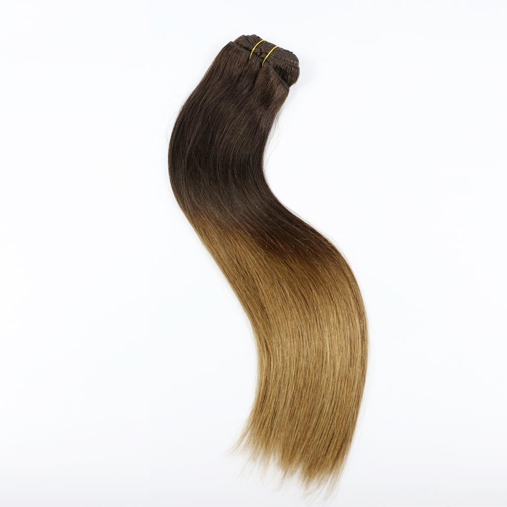 Wholesale clip in hair extensions Brazilian hair  120G 160G 180g 200g YL154