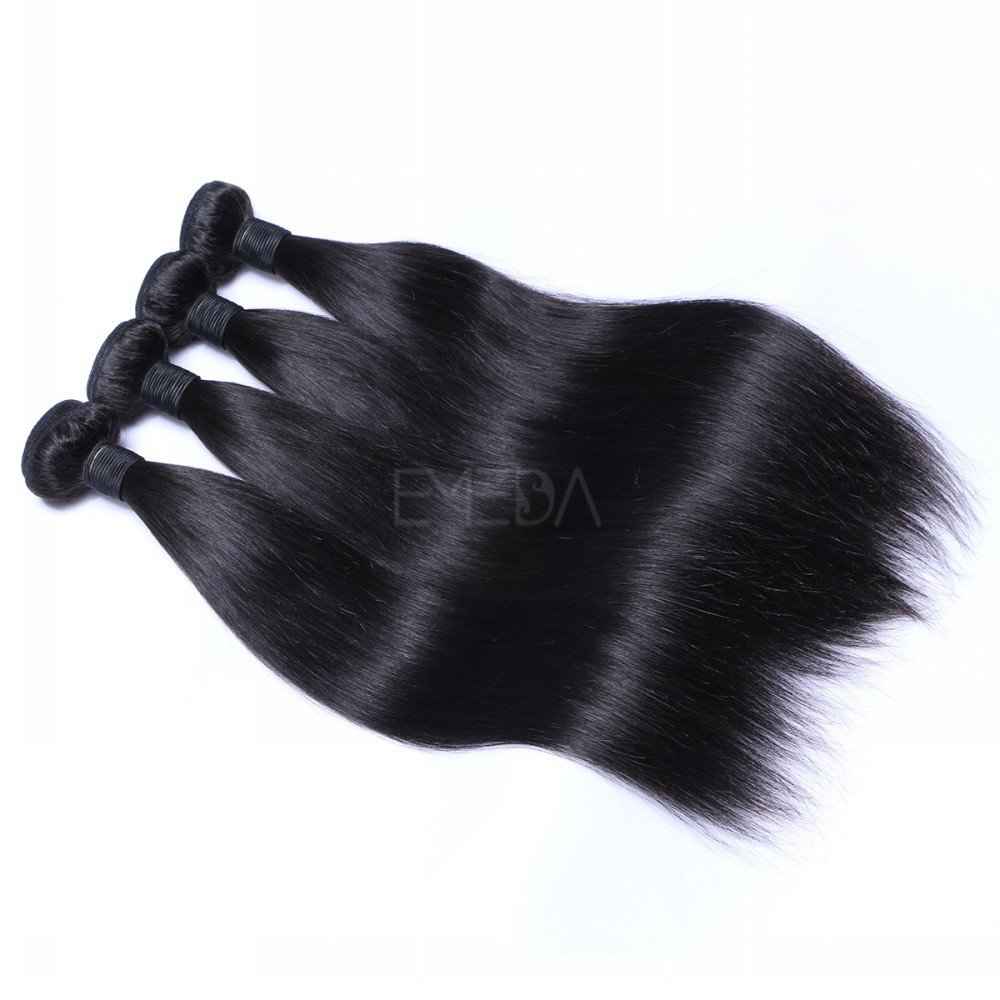 Wholesale Price List Human Hair Peruvian Straight 24inch Hair Bundles Weave  LM422
