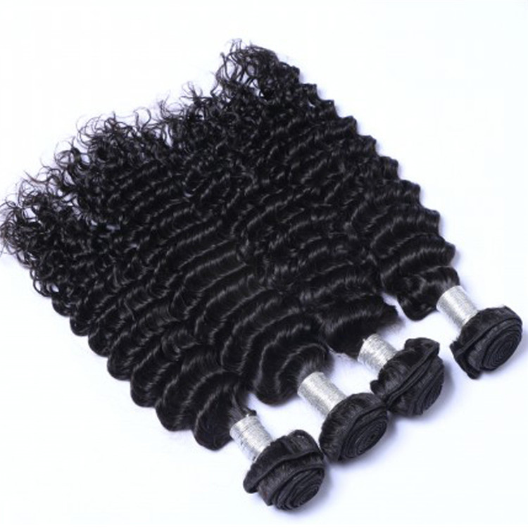 EMEDA Whoelsale china natural peruvian deep wave human hair bundles factory QM034