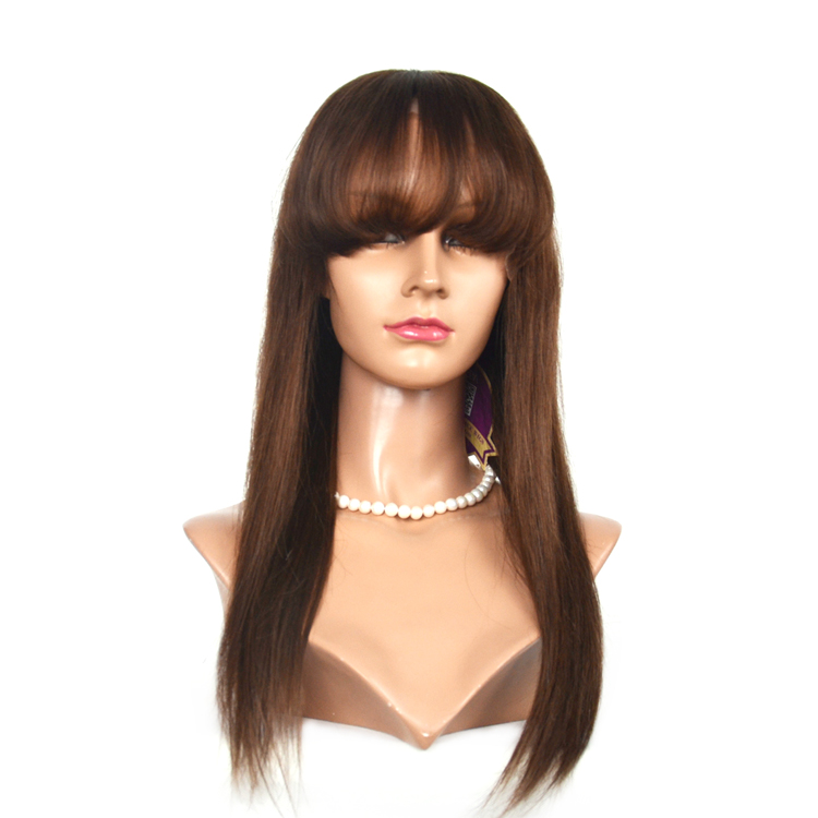 Unprocessed Virgin Human Hair Wig Brazilian Hair Full Lace Wigs    LM157