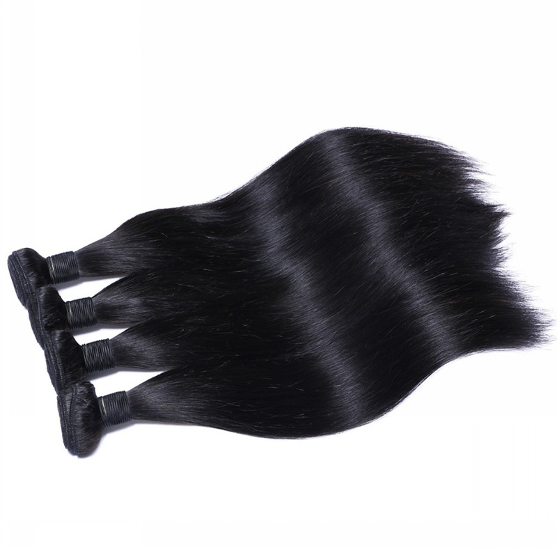 100% Human Hair Extension Hair Weft Bundle for Mak...</>